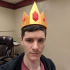 Ice King Crown Adventure Time Fan Art print image