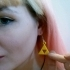 Legend of Zelda Triforce Earrings image