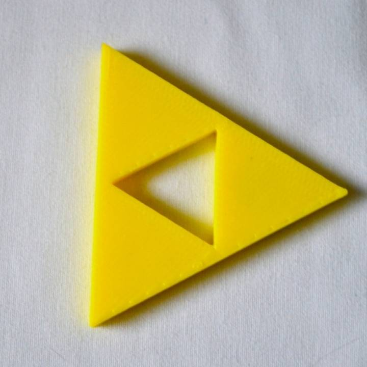 Zelda Triforce Fridge Magnet