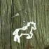 Earrings Horse silhouette 1 image