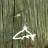 Earrings Shark silhouette 1 image
