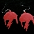 David Bowie Aladdin Sane Earrings image