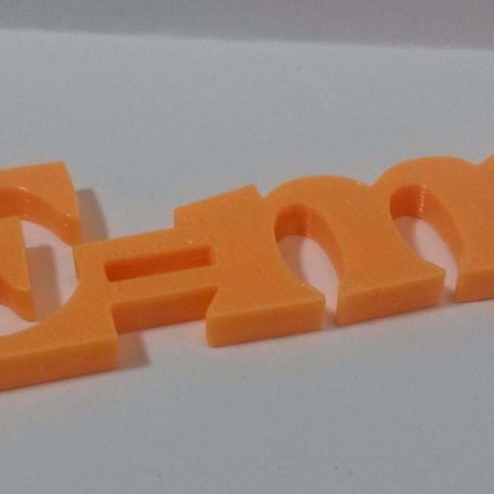 Science Fun! E=mc2 Magnet