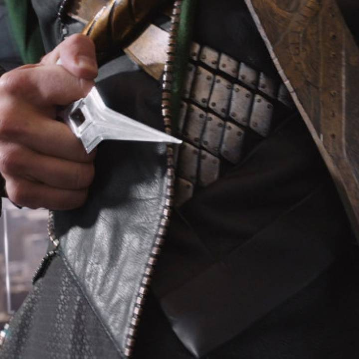 Loki's Push Dagger from The Avengers