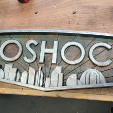 Picture of print of Bioshock Plaque