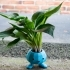 Oddish Planter with Snap Together Legs! image