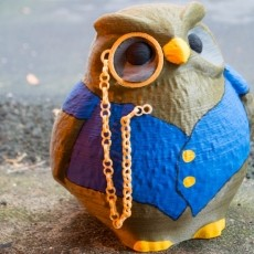 Cedric the Owl from King's Quest V