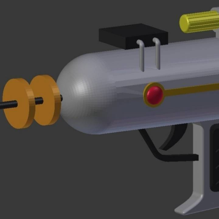 Rick's Laser Gun from Rick and Morty