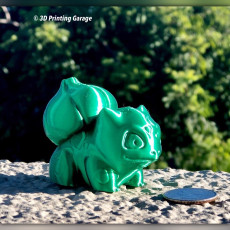 Picture of print of High-Poly Realistic Bulbasaur