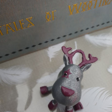 Picture of print of Small Jointed Reindeer