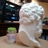 Marble Head of Herakles Bust (Near Life-Size)) image