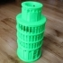 Mini Tower of Pisa case for Google OnHub image
