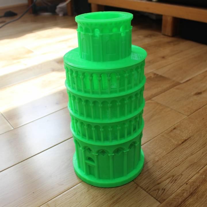 Mini Tower of Pisa case for Google OnHub