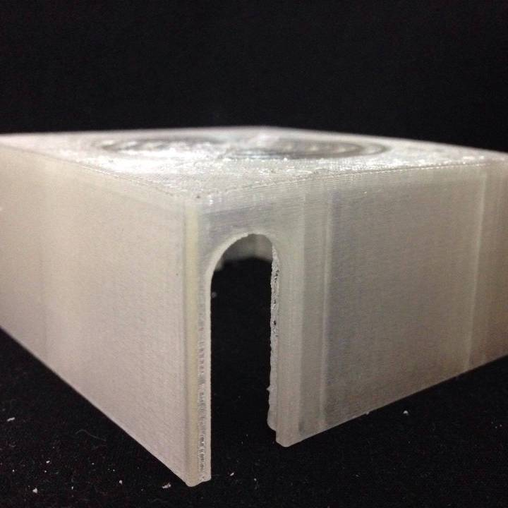 Wanhao i3 back plate for 80mm fan