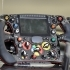 Formula 1 steering wheel replica image