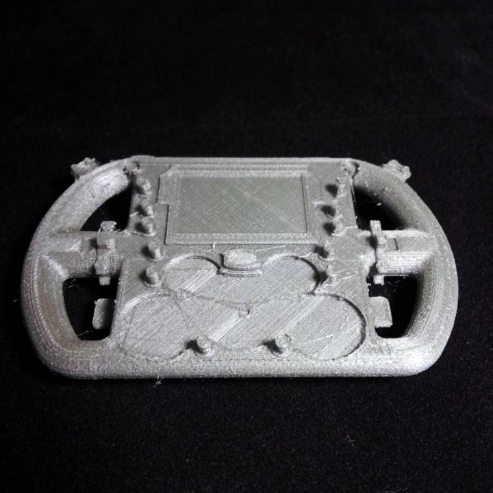 3D Printable Formula 1 steering wheel replica by mitchell