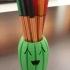 Cactus Pencil Case print image