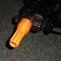 Ribbed Flash Hider for Nerf Barrel Connector image