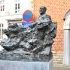 Sculpture of Anton Van Wilderode in Sint-Niklaas, Belgium image