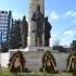 Crisan (Revolt statuary group) in Cluj, Romania image