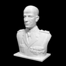 Bust of Nicolae I Dascalescu in Cluj, Romania