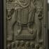 Animal fight tablet at The Gallo-Roman Museum of Tongoren, Belgium image