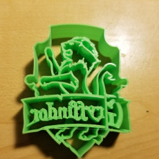 Picture of print of Gryffindor Coat of Arms Cookie Cutter
