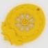 Dharma Wheel (Dharmachakra) Keychain image