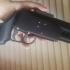 Wastelander's Rebuttal, airsoft over/under shotgun pistol print image