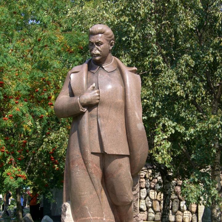 Stalin at MUSEON, Moscow
