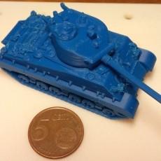 Sherman M4A3 76 mm 1:100 scale