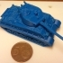 Sherman M4A3 76 mm 1:100 scale image