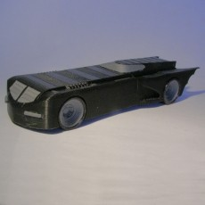 Batmobile from the animated serie of 1995