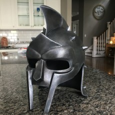 Picture of print of Gladiator helmet prop