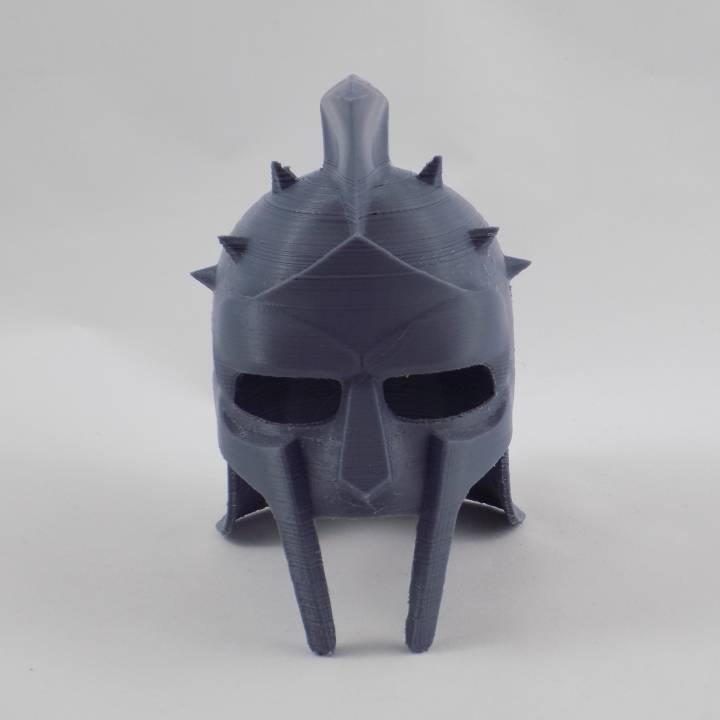 Gladiator helmet prop