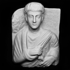 Funerary Relief of Zabdibol at The State Hermitage Museum, St Petersburg