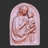 Relief of Madonna and Child at The State Hermitage Museum, St Petersburg image