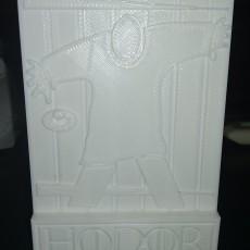 Picture of print of Hodor Door Stop