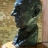 Bust of John Anderson at The London Docklands, England image