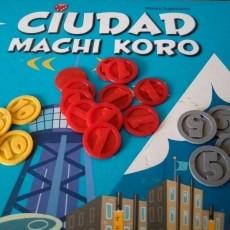 Machi Koro City Coins BoardGame Upgrade