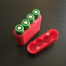 Magnetic Battery Case (4x18650)
