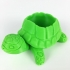 Teenage Mutant Ninja Turtles-inspired Turtle Planter! print image