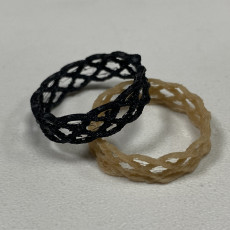 Picture of print of Braided Ring
