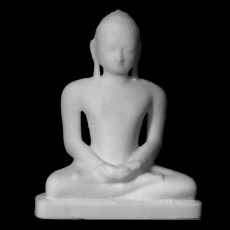 Sitting Tirthankar at The State Hermitage Museum, St Petersburg