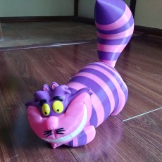 Picture of print of Cheshire Cat 这个打印已上传 Jessica McGee