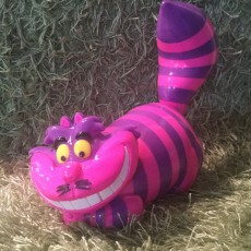 Picture of print of Cheshire Cat 这个打印已上传 Clive Harris
