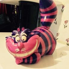 Picture of print of Cheshire Cat 这个打印已上传 Casey Sigmon