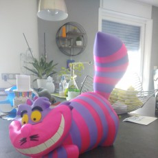 Picture of print of Cheshire Cat This print has been uploaded by Fred