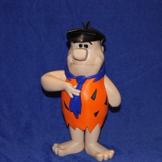 Picture of print of Fred Flintstone