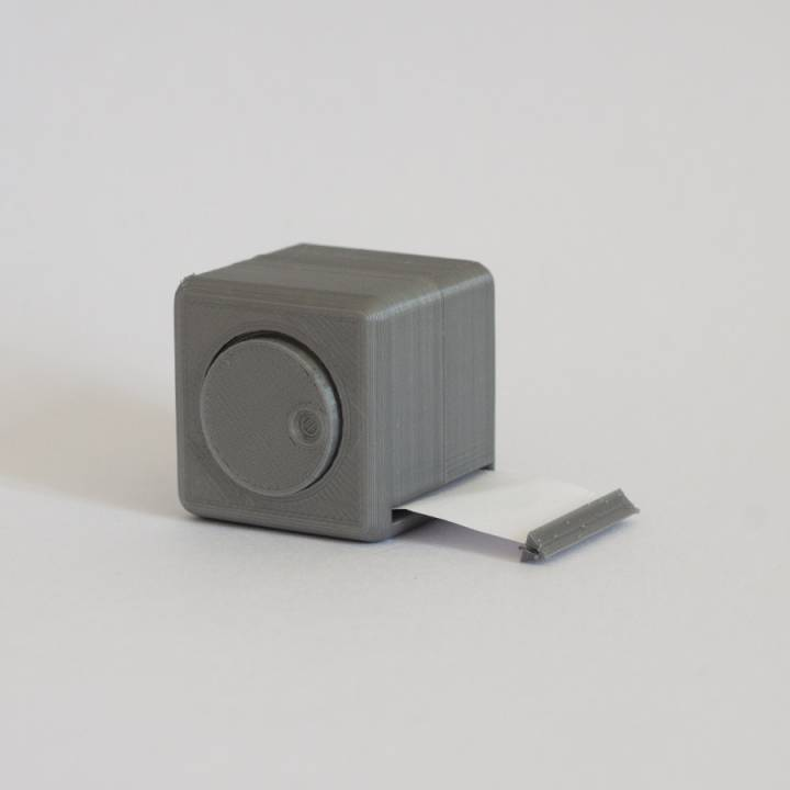 3d printable ikea tape measure container by thistof for Ikea cassette